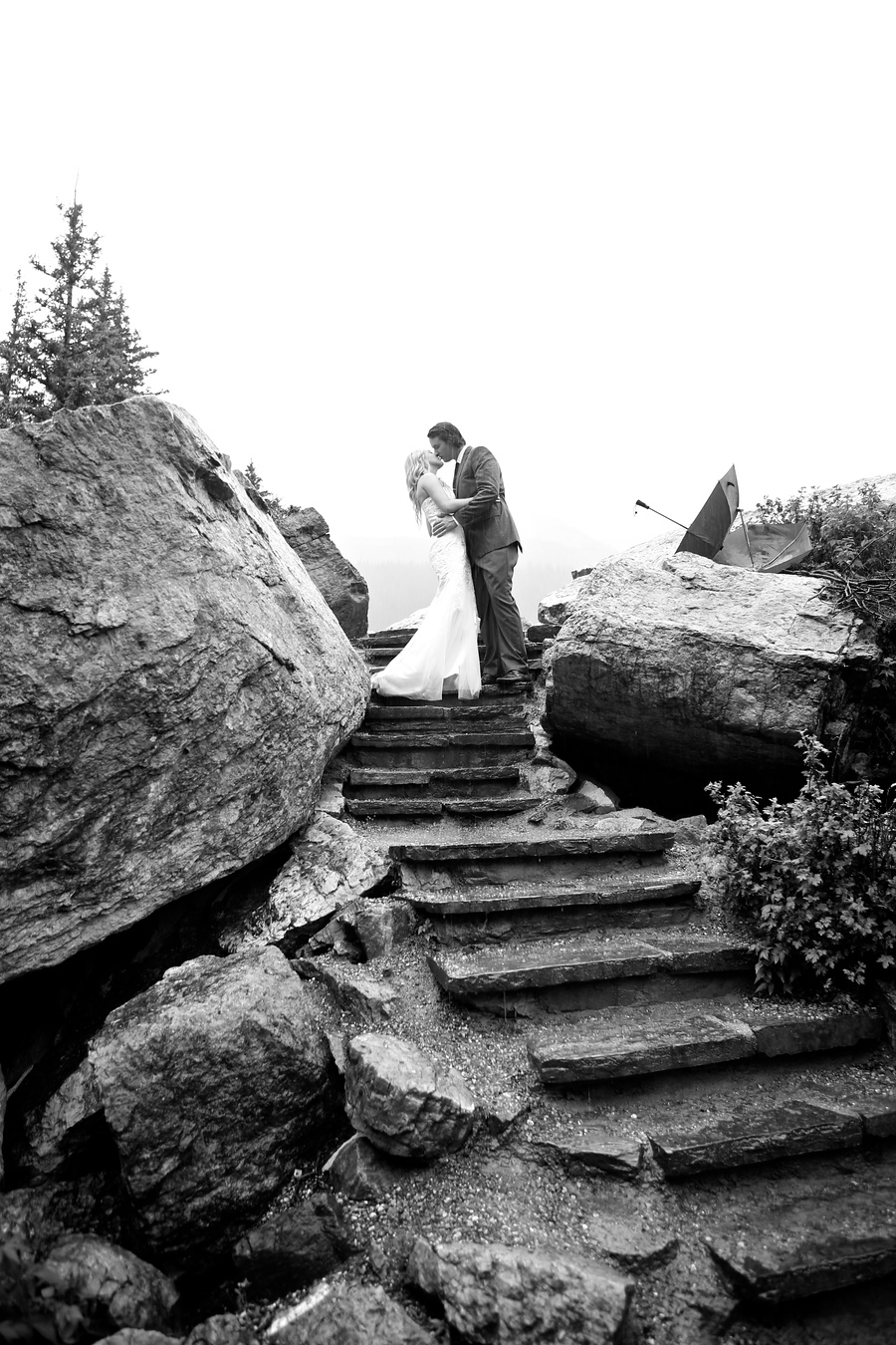 Moraine Lake Elopement - Wedding by Mark Derry Photography