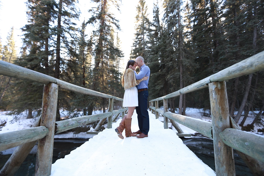 Brittani & Brandon, Vermillion Lakes, by Mark Derry Photography 5