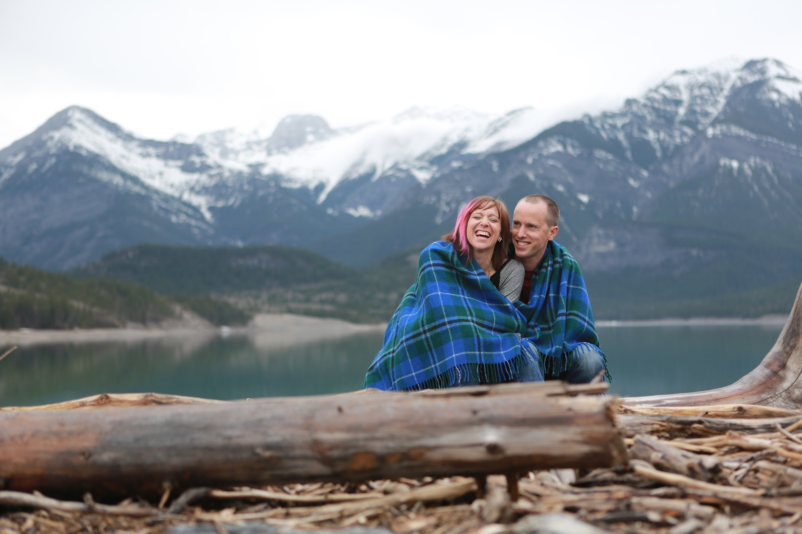 Mountain Engagement Shoot by Mark Derry Photography